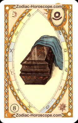 The coffin, monthly Love and Health horoscope October Aquarius
