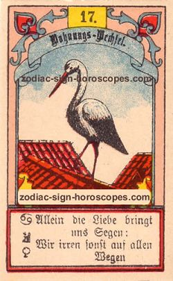 The stork, monthly Aquarius horoscope February